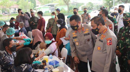 Alumni Akabri 89 Turun Tangan Bantu Percepatan Vaksinasi Di Banten