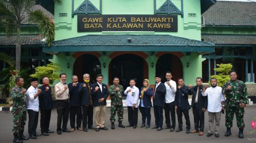 Danrem 064/MY Ajak LPM Banten Tingkatkan Nasionalisme Masyarakat